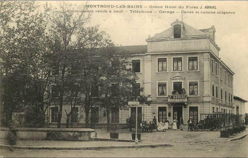 Pizzeria Montrond Les Bains Ancien Casino
