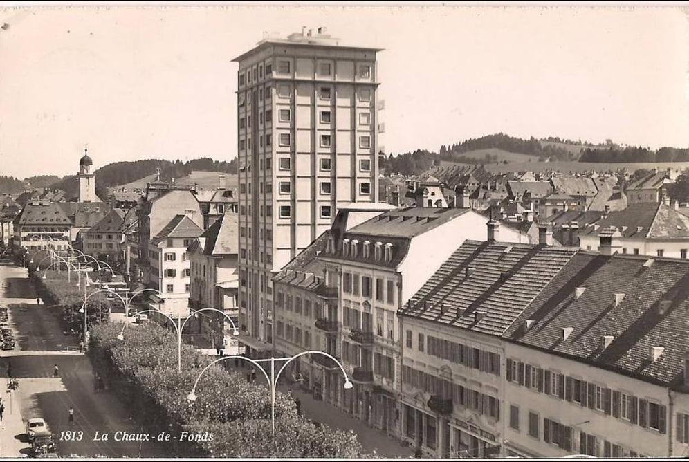 Suisse La Chaux De Fonds Photo Edition Sartori Carte Postale