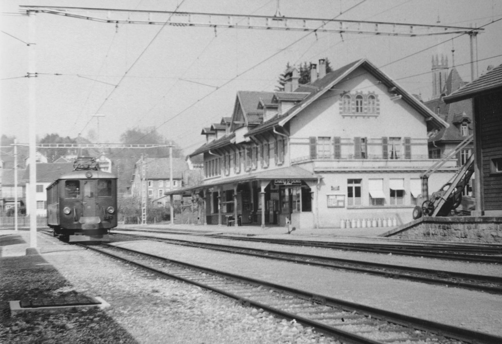 Châtel-St-Denis - Gare/Bahnhof Châtel-St-Denis