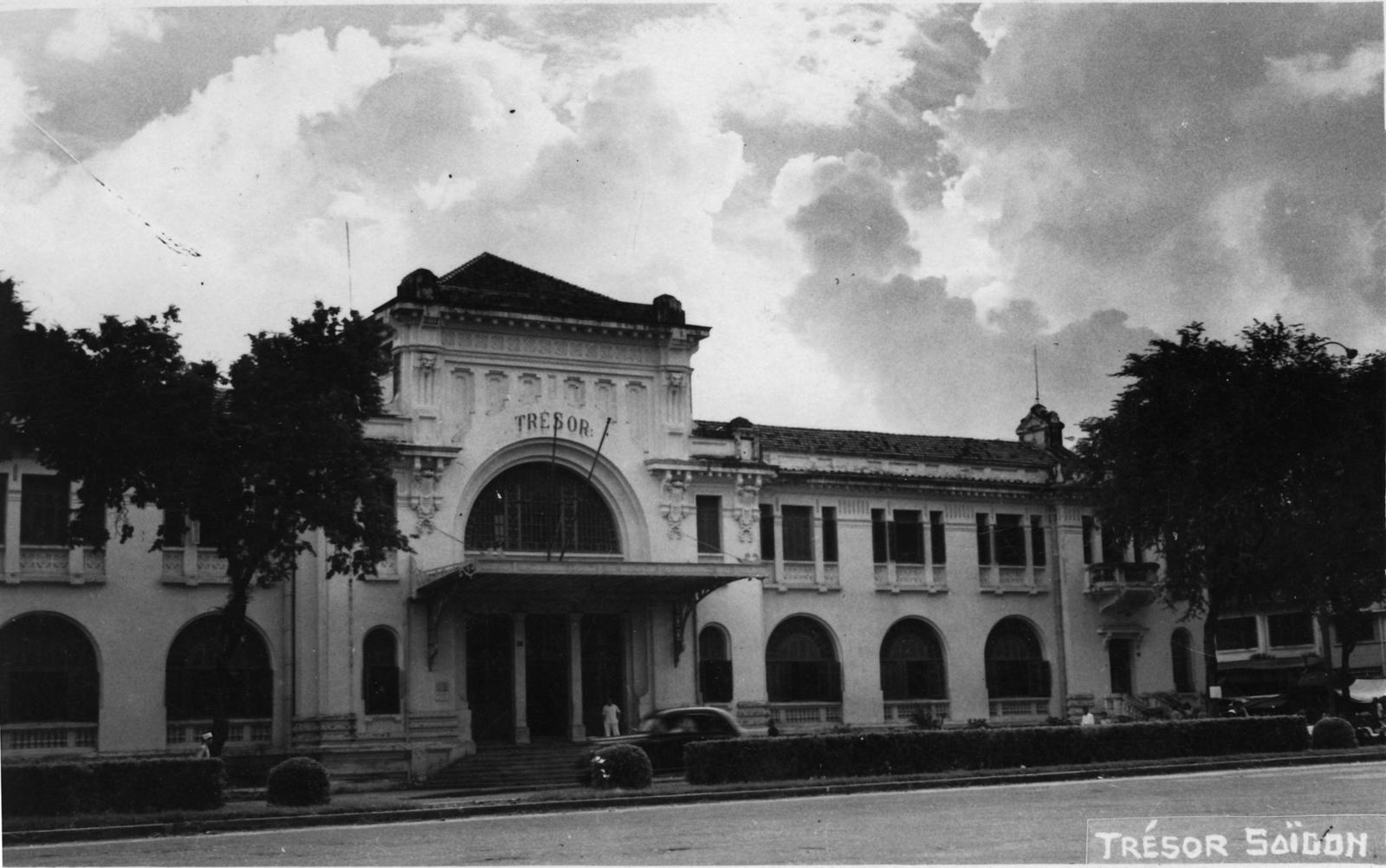 Saigon -  Le Trésor à Saïgon, Indochine