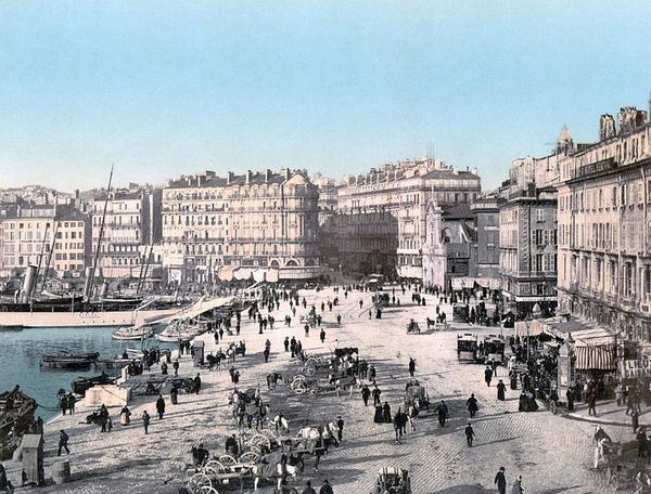 Marseille - Marseille :vieux port ,quai des belges :j aime