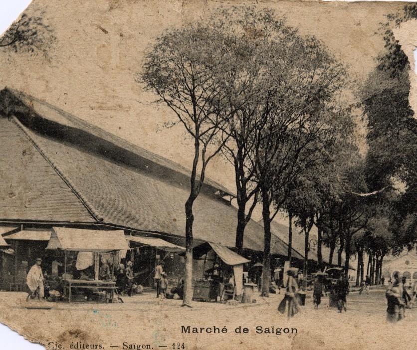 Hô-Chi-Minh-Ville -  Le Marché de Saïgon.