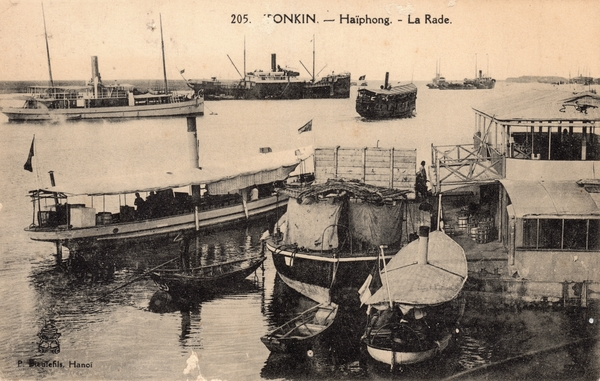 Haïphong - TONKIN-Haïphong-La Rade