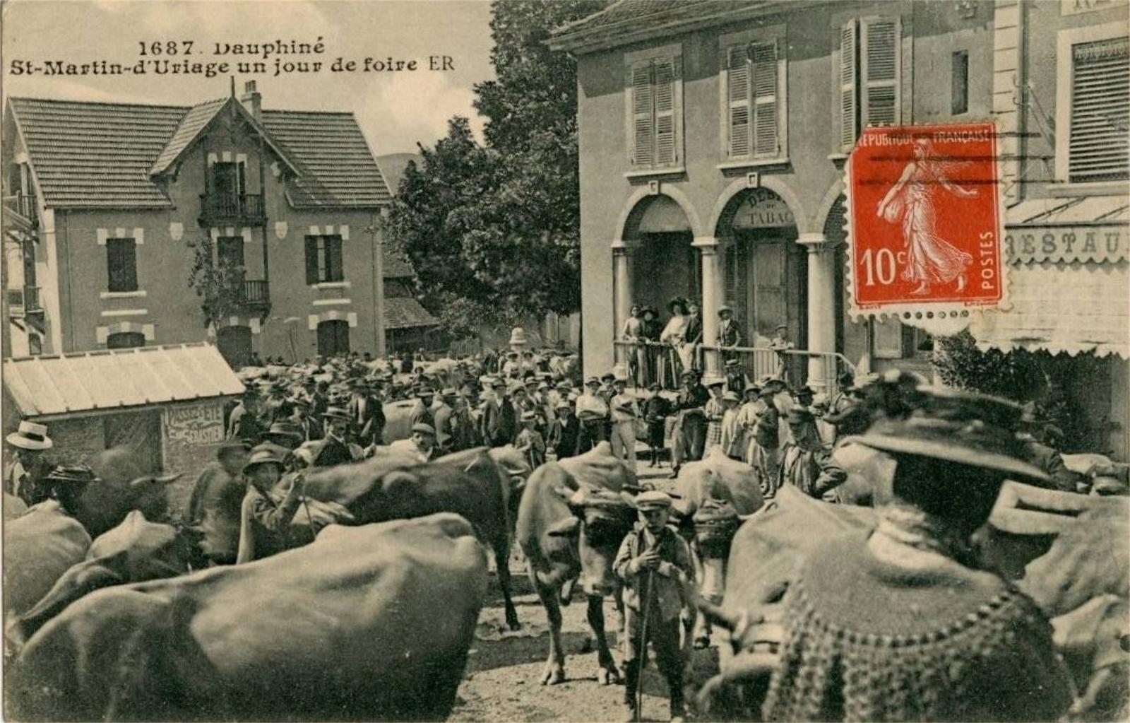 Bibliothèque Saint Martin D Uriage st-martin-d'uriage - recherche de cartes postales - geneanet