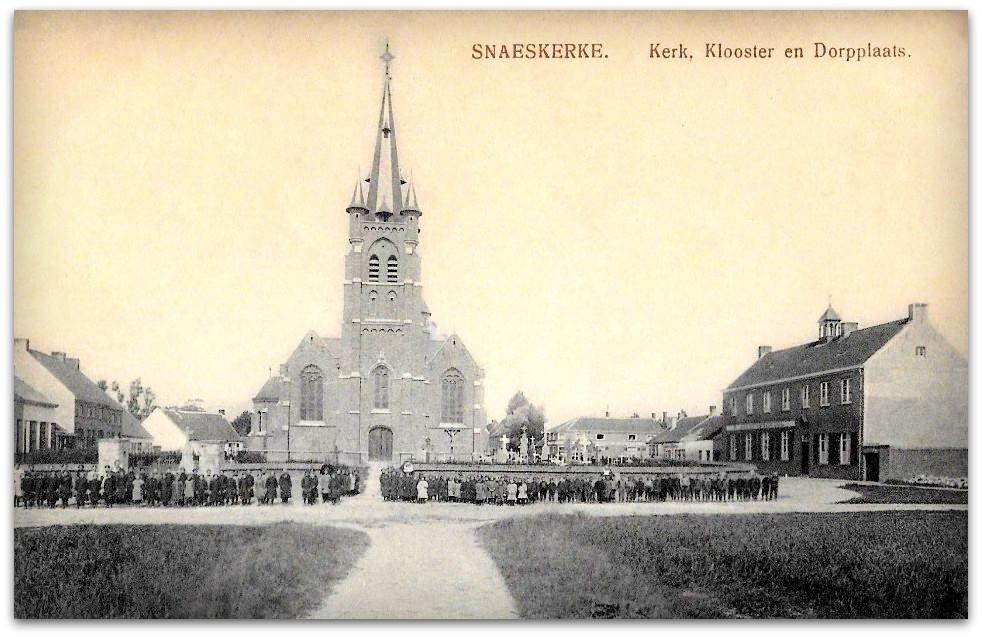 """Snaaskerke - Snaaskerke """" Zicht op de Dorpplaats """""""