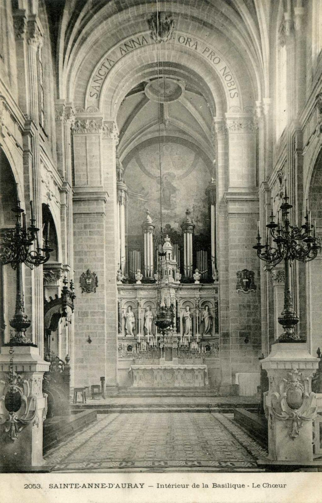 Architecte D Intérieur Auray sainte-anne-d'auray - intérieur de la basilique - le chœur