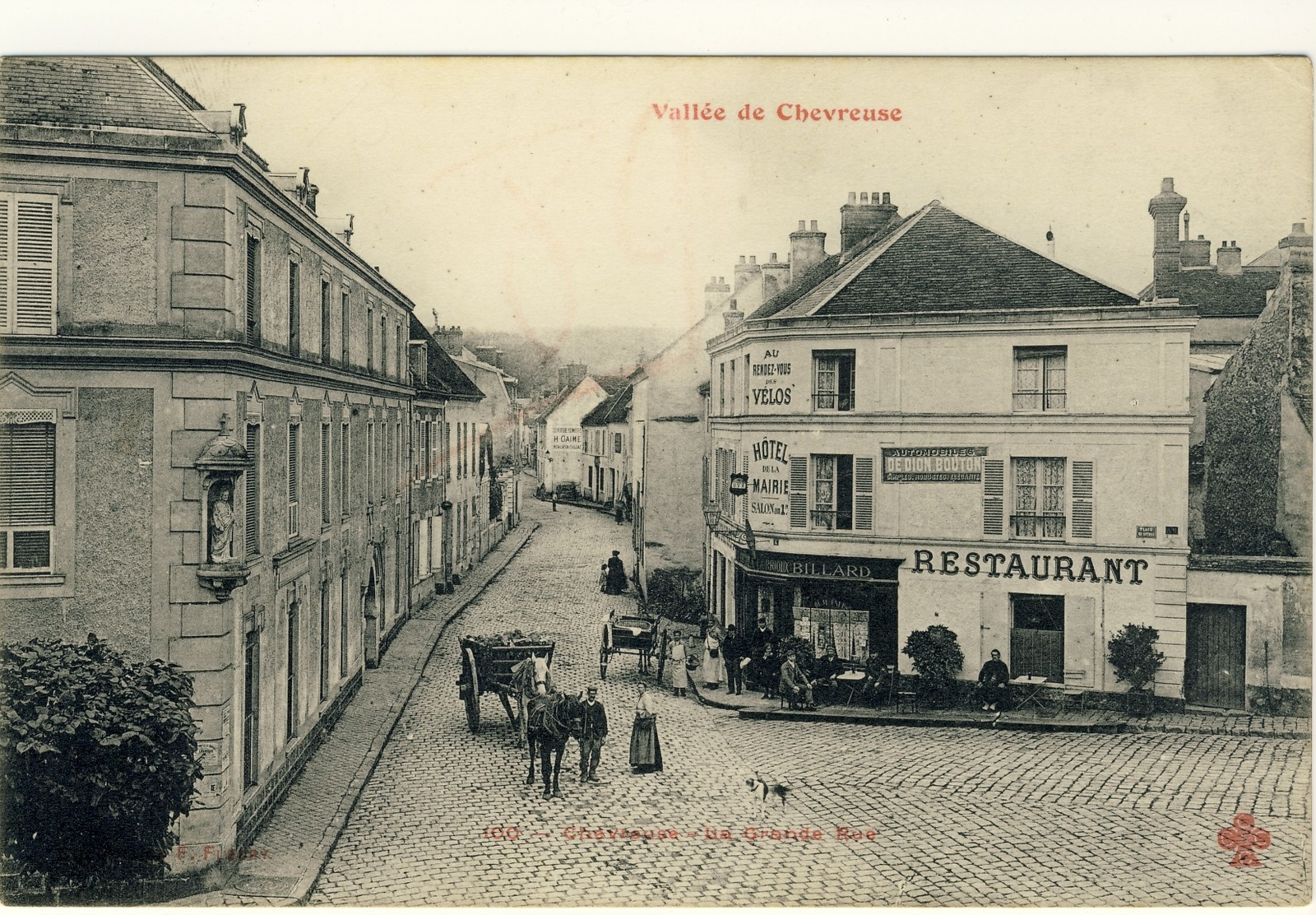 Chevreuse - la grand rue