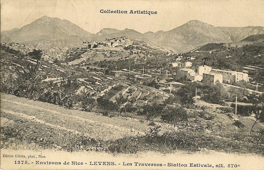 Levens - Levens - le quartier des Traverses vu depuis le quartier du Vignal