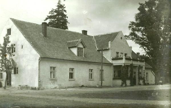 Truschellen, Landkreis Memel - Gutshaus Eckitten