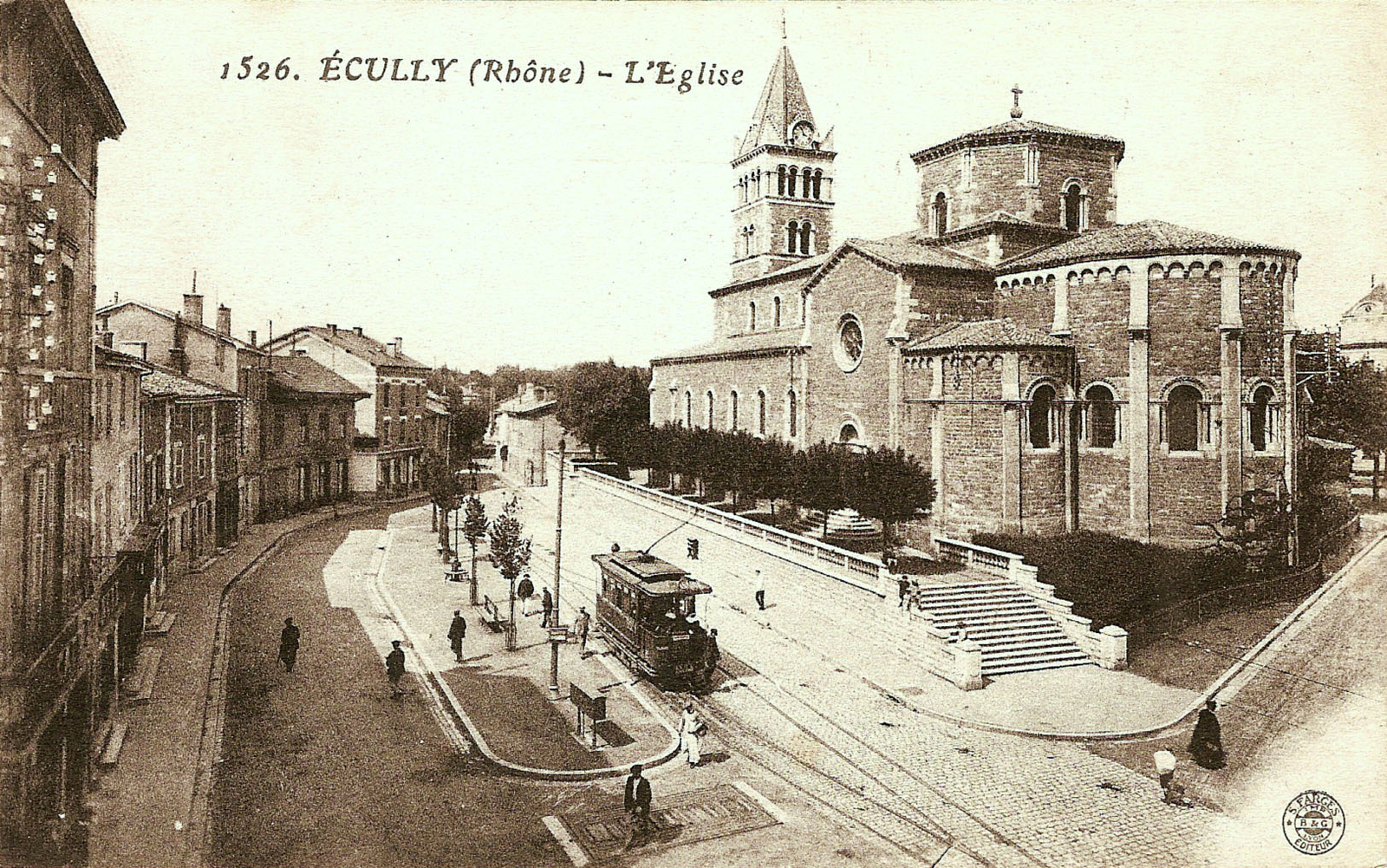 Ecully - Ecully- L'église