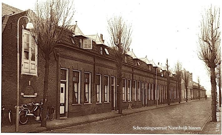 Noordwijk binnen de scheveningsestraat circa het huis met