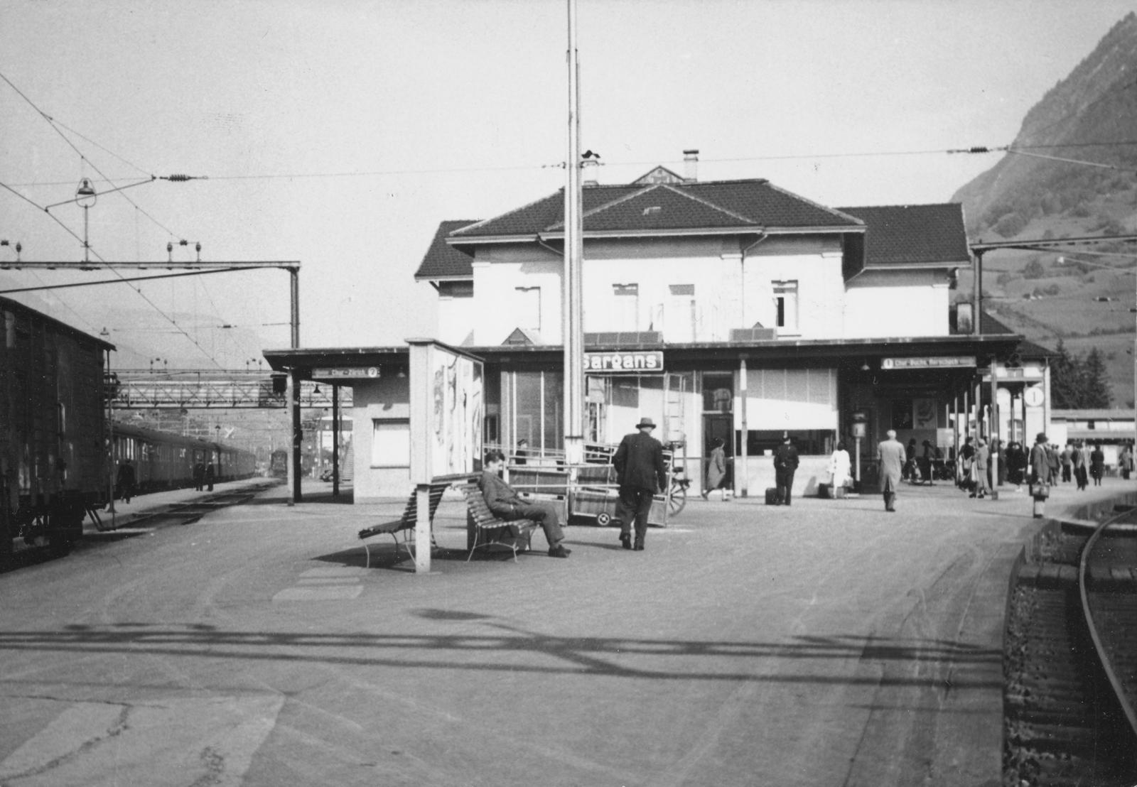 Sargans -  Gare/Bahnhof Sargans