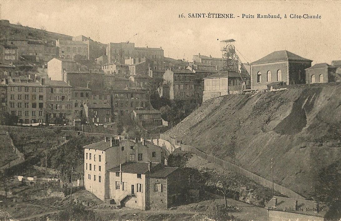 La ville minière de Saint Etienne où je suis né