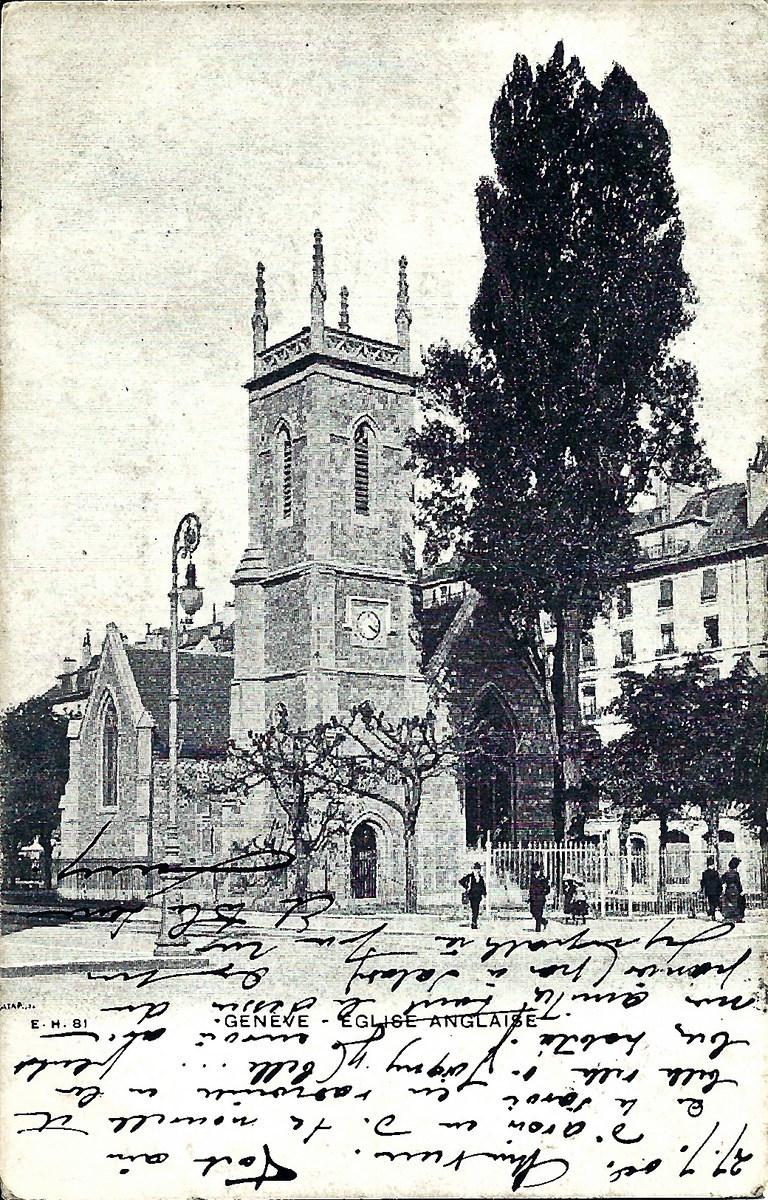 Genève -  Genève - L'Eglise Anglaise