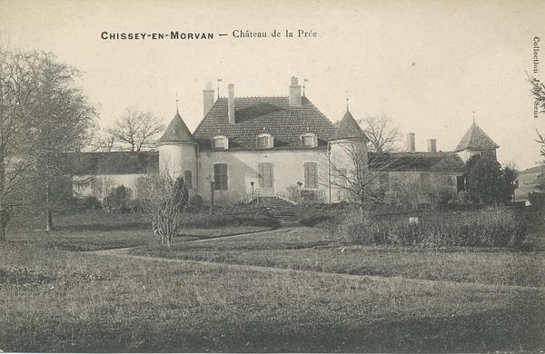 Chissey-en-Morvan - Chissey-en-Morvan. Château de la Prée.