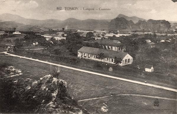 Langson - TONKIN-Langson-Casernes