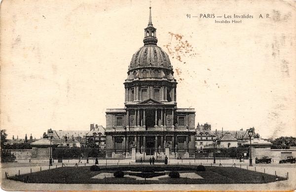 Paris - Les Invalides.