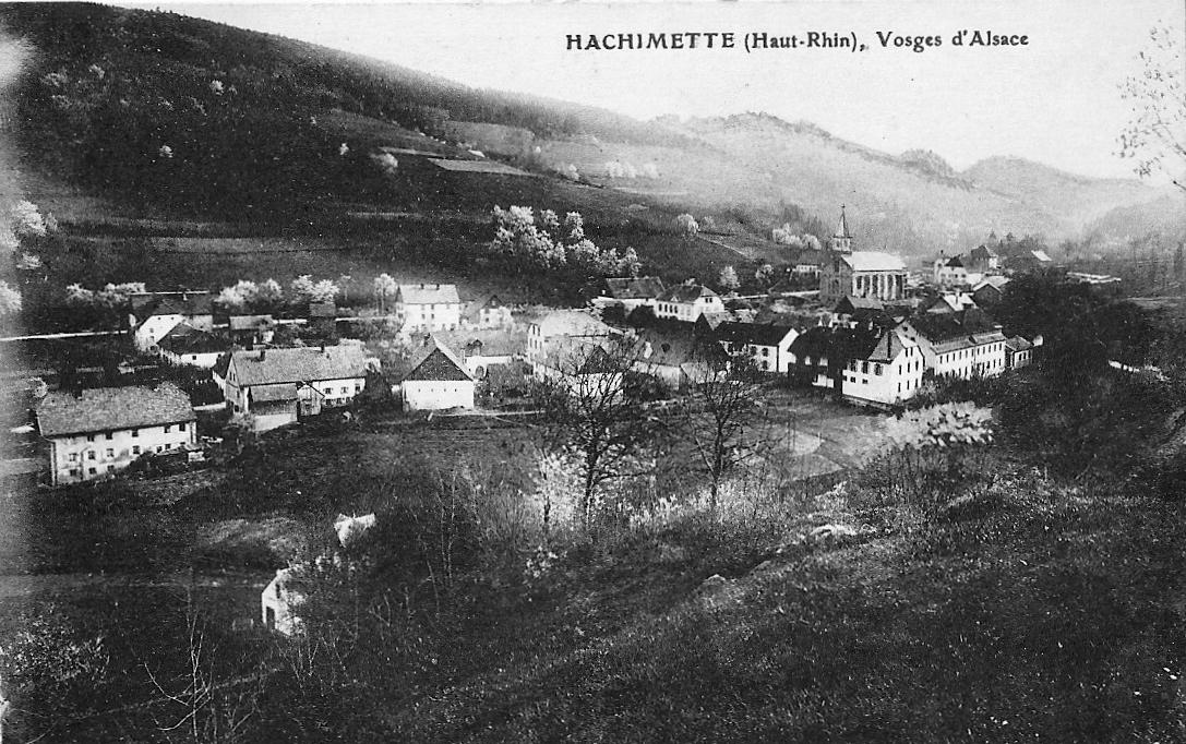 Carte Alsace Lapoutroie.Lapoutroie Vue De Hachimette Carte Postale Ancienne Et
