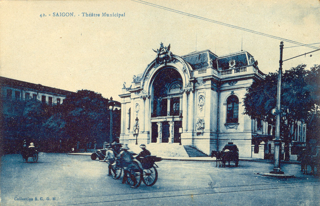 Saïgon -  Saïgon Théâtre Municipal