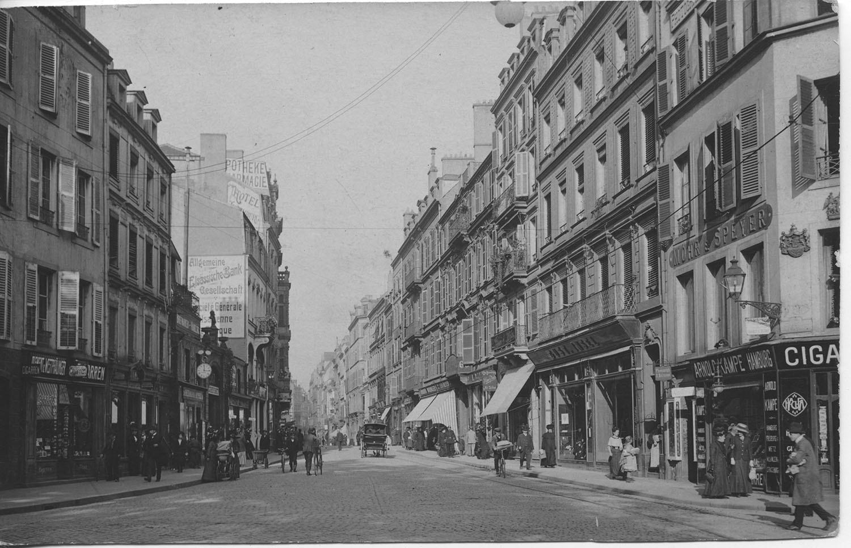 Metz -  Rue Serpenoise