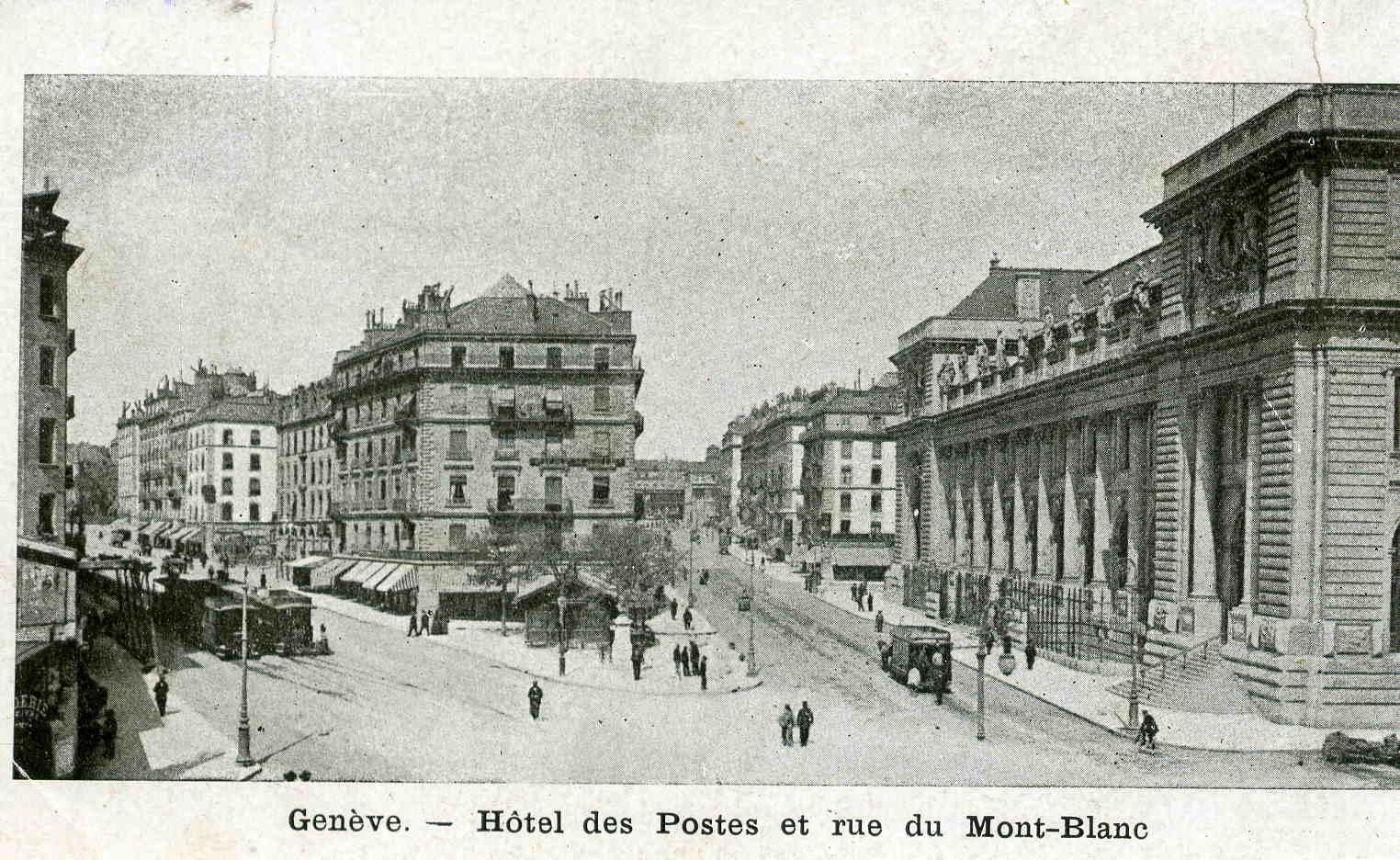 Genève - Rue du Mont Blanc