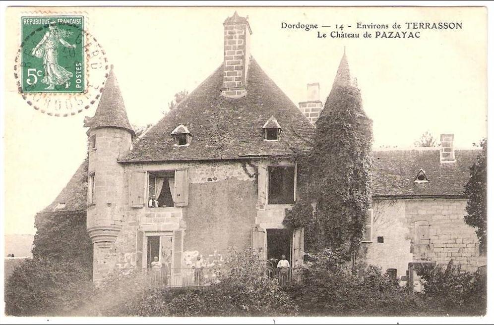 Terrasson La Villedieu Environs De Terrasson Le Château De