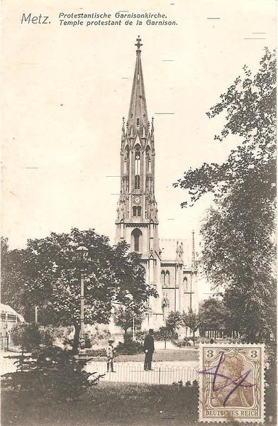 Metz - Temple protestant de la Garnison