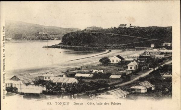 Doson - Cp Tonkin Vietnam, Doson, Cóte, baie des Pilotes