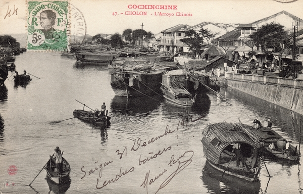 Cholon - COCHINCHINE-Cholon-L'Arroyo Chinois