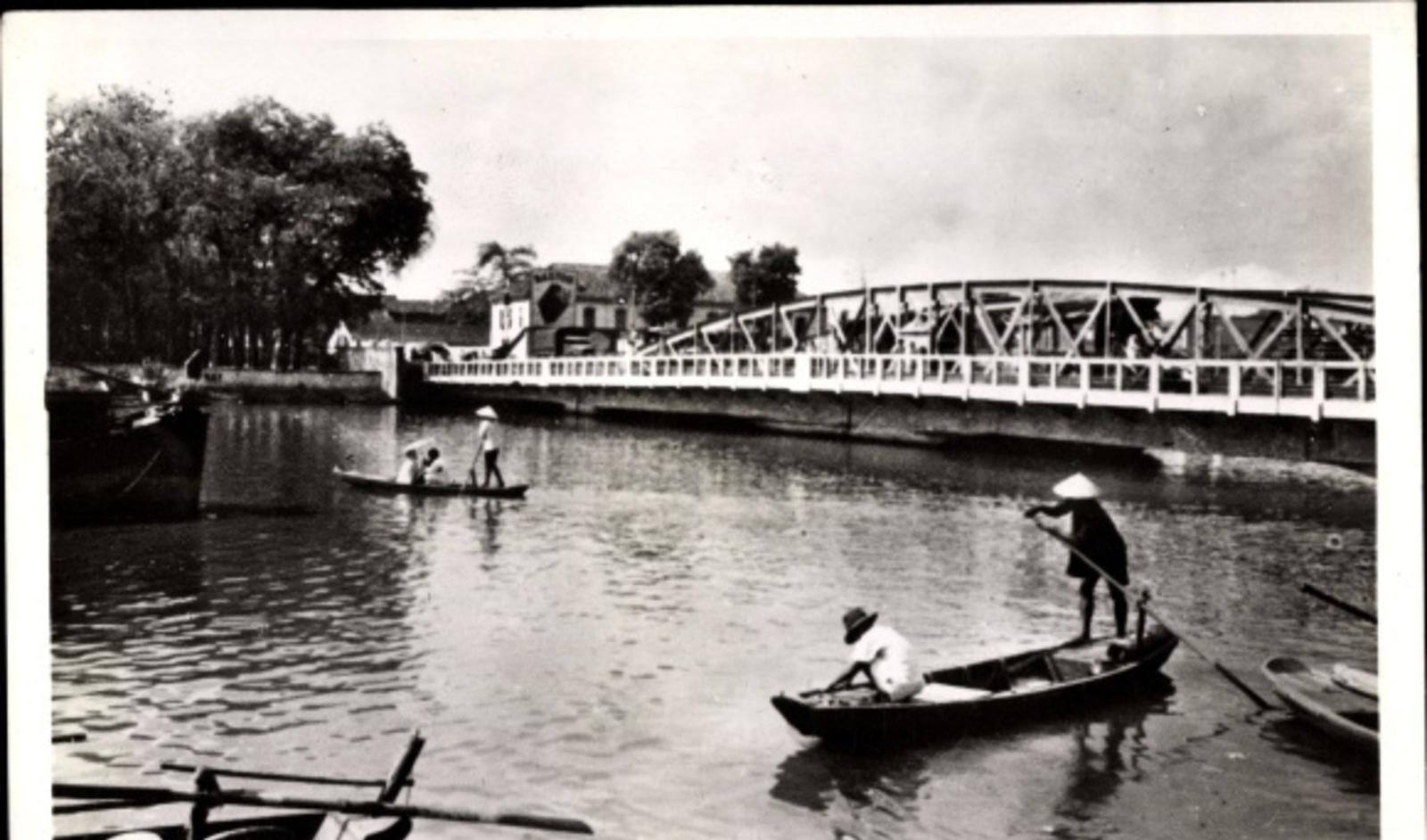 Hô Chi Minh-Ville -  Cp Saigon Cochinchine Vietnam, Le pont de Khannhoi