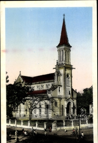 Hô Chi Minh-Ville - Cp Saigon Cochinchine Vietnam, L'Eglise de Huyen St.