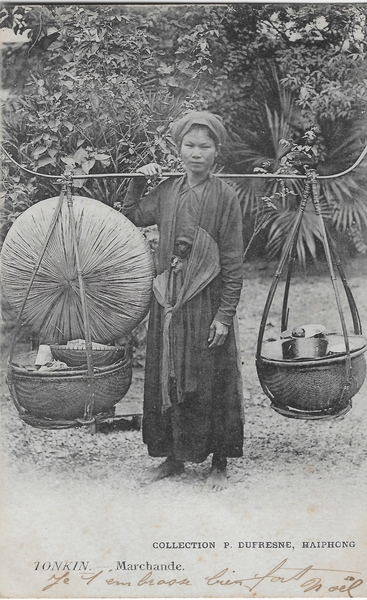 Haiphong - Tonkin.Marchande.