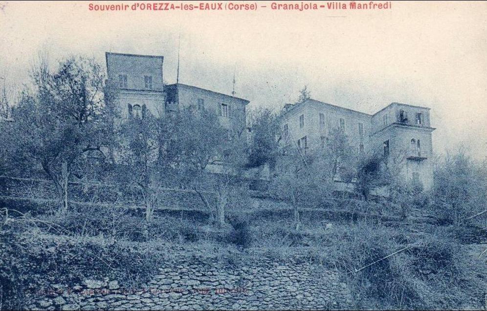 Carte Corse Orezza.20 Souvenir D Orezza Les Eaux Granajola Villa