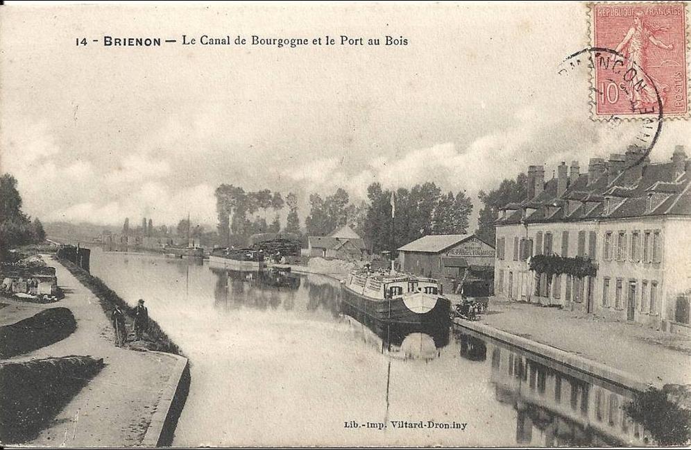 Canal De Bourgogne Carte.Brienon Sur Armancon Brienon 89 Le Canal De Bourgogne Et Le