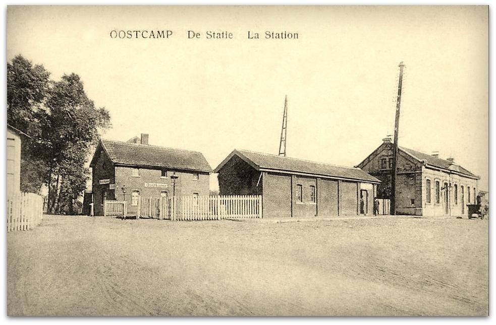 """Oostkamp -  Oostkamp """" Zicht op de Statie """""""