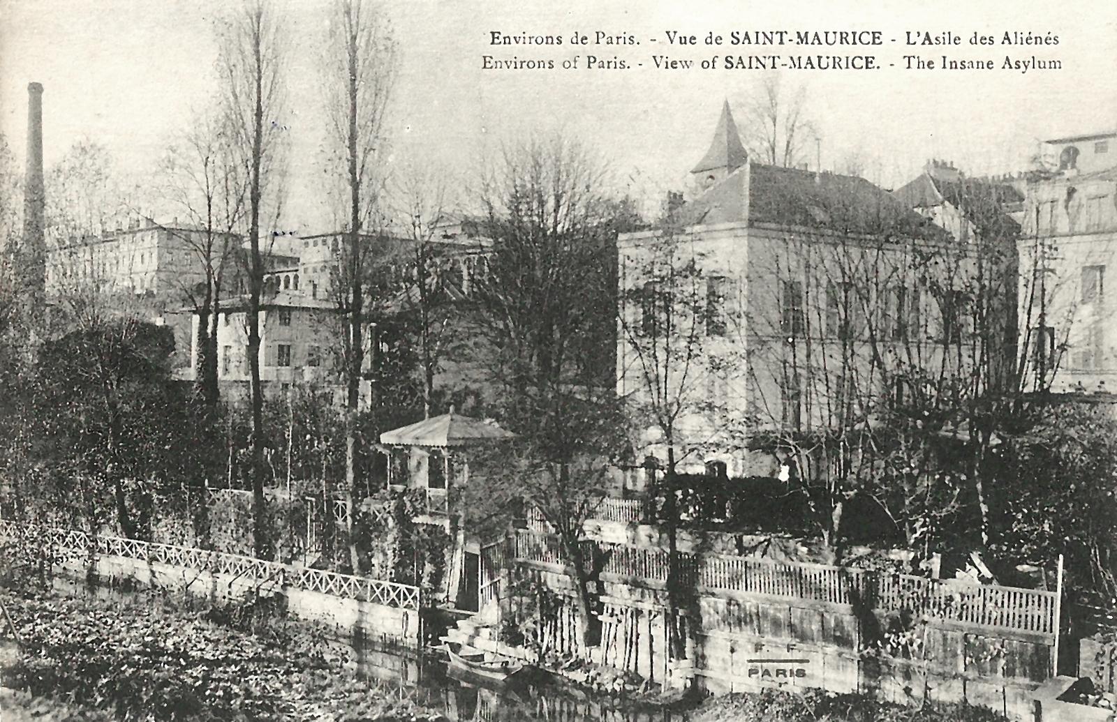 Saint-Maurice -  L'asile des aliénés