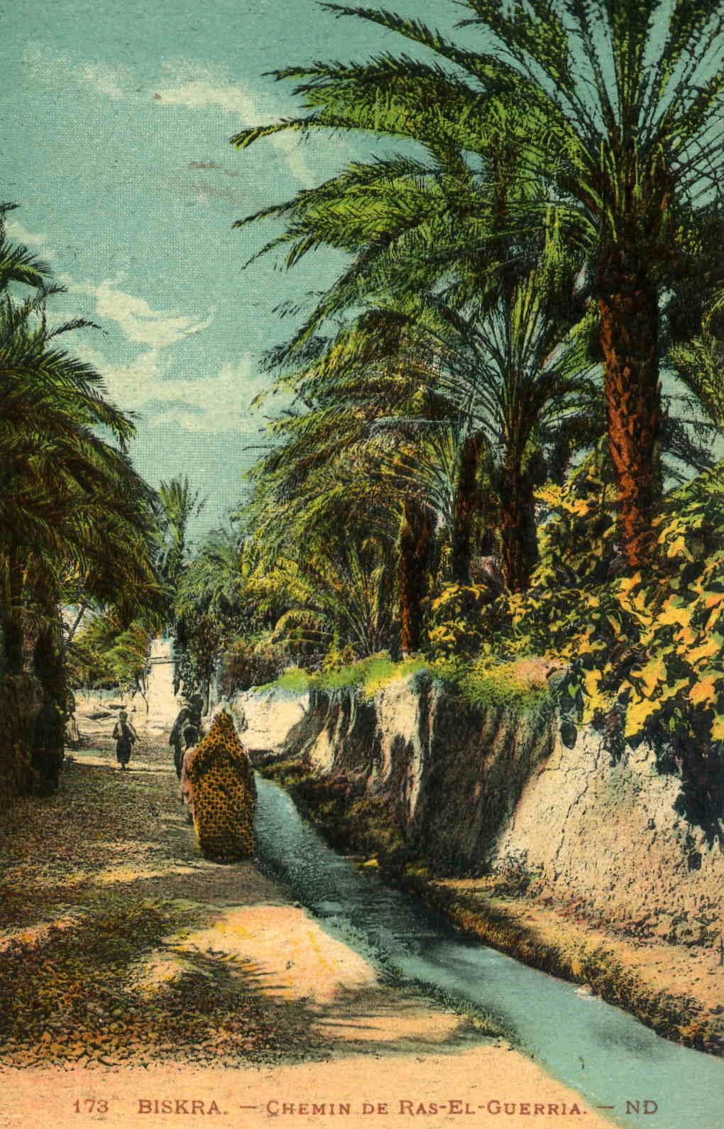 Biskra - Chemin de Ras-El-Guerria