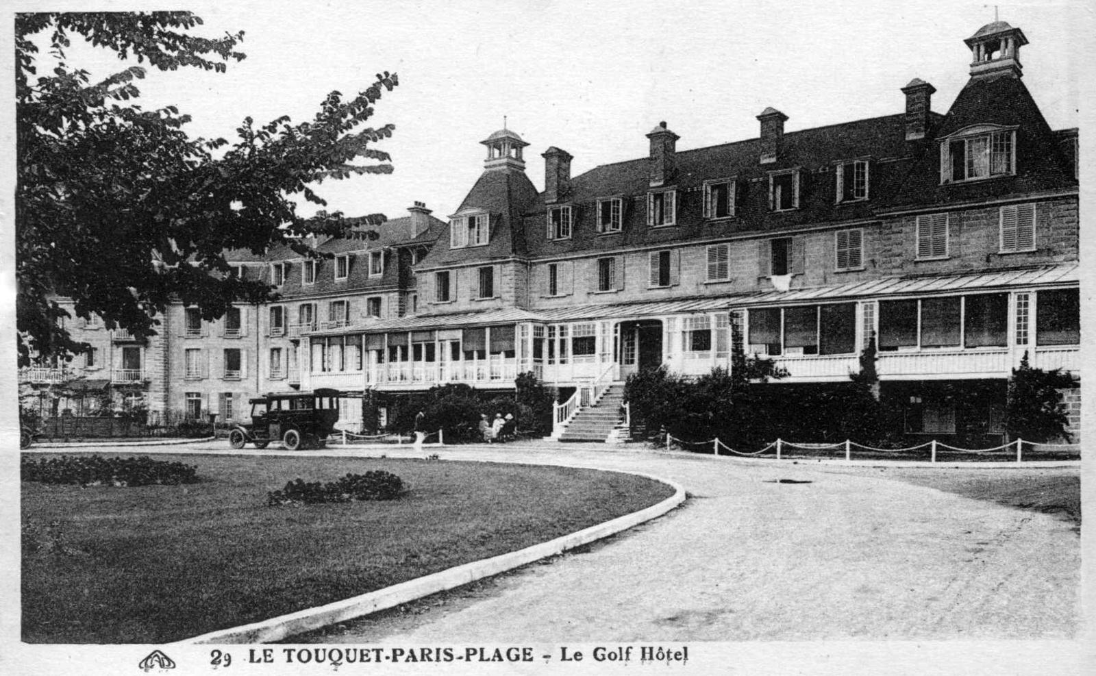 Le Touquet-Paris-Plage -  Le Golf Hôtel.