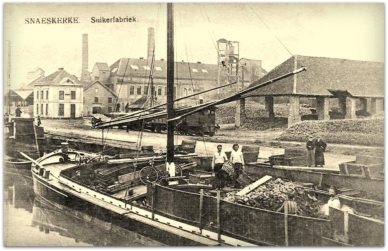 """Snaaskerke - Snaaskerke """" Zicht op de Suikerfabriek """""""