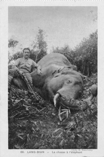 Lang-Bian - Chemin de fer: le LANG BIAN au temps de l'IndochineImage de chasse