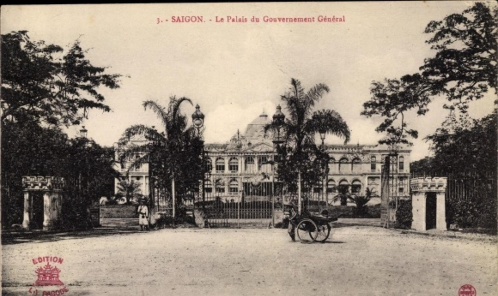 Hô Chi Minh-Ville -  Cp Saigon Cochinchine Vietnam, Le Palais du Gouvernment Général