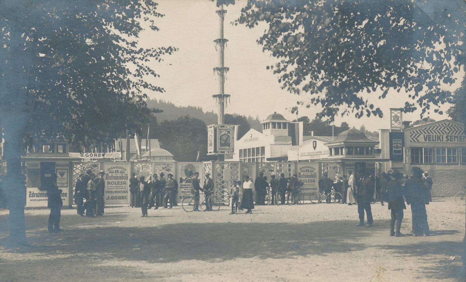 Ljubljana -  LJUBLJANA / Laibach - 1921 , Moschee