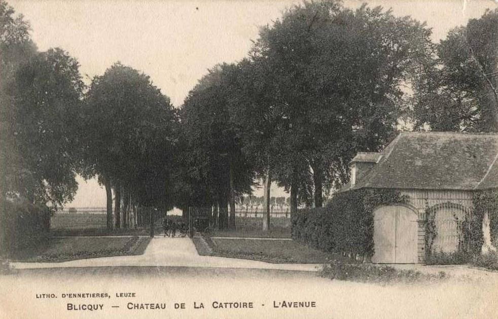 Blicquy - Drève du château de la Cattoire