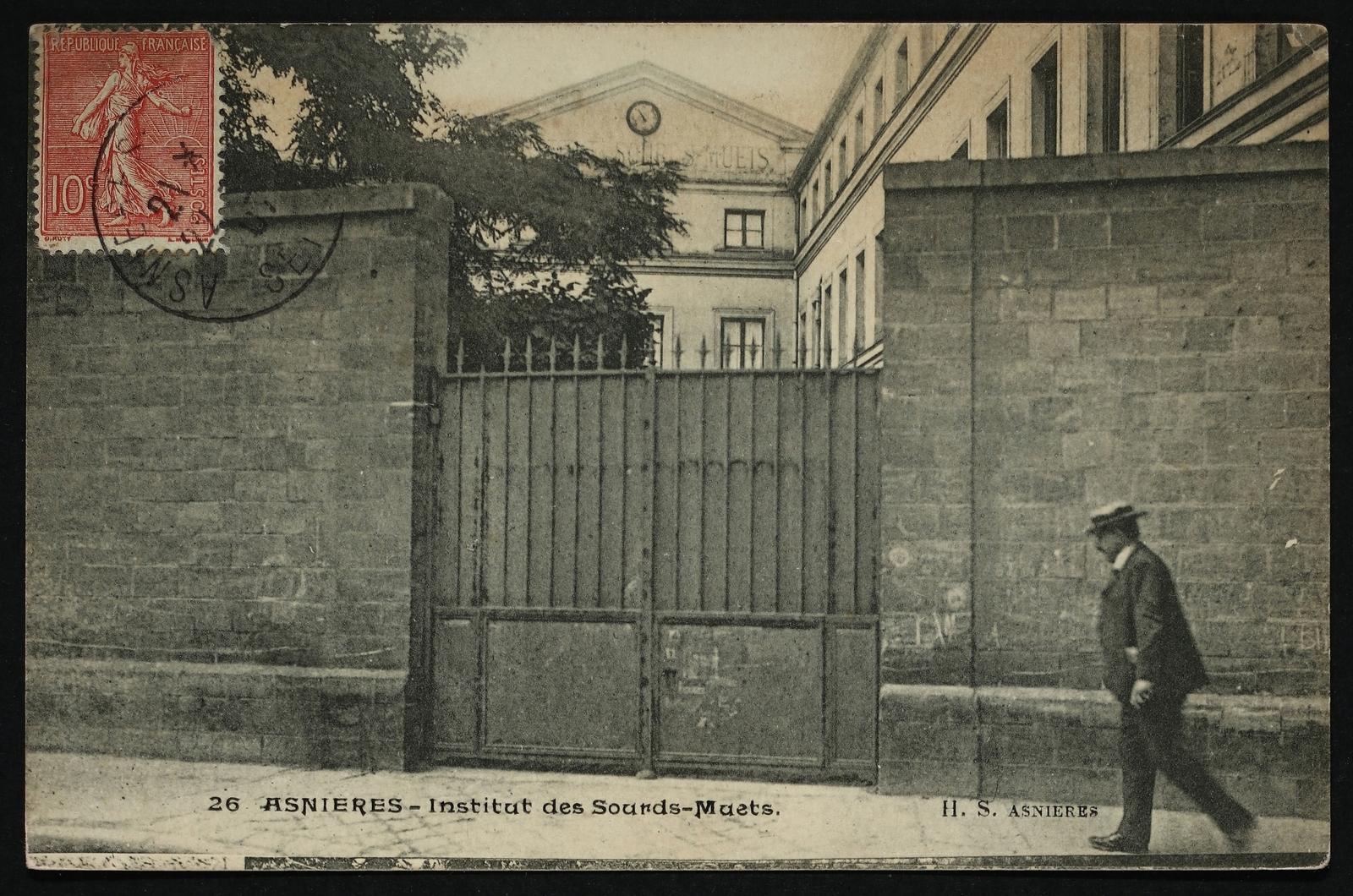 Asnières-sur-Seine - Institut des Sourds-Muets
