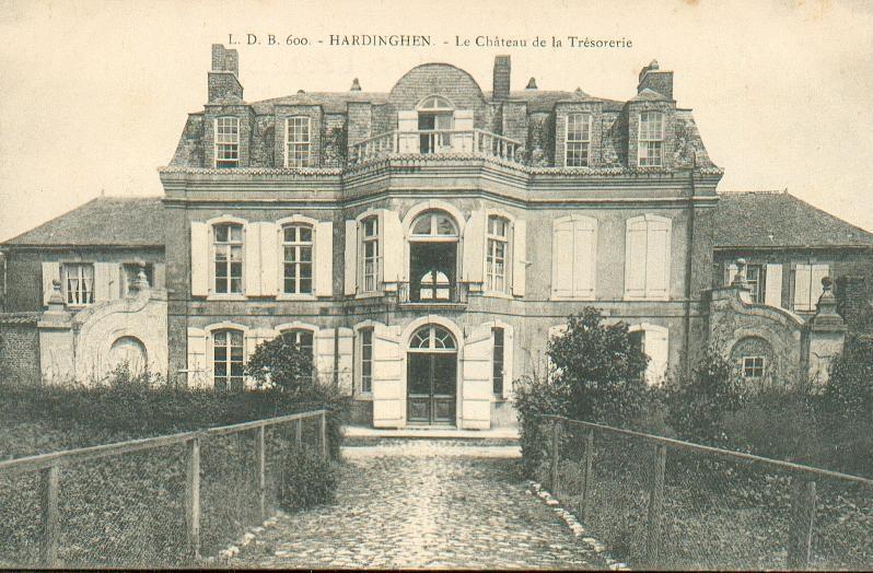 Hardinghen - Chateau de la trésorerie