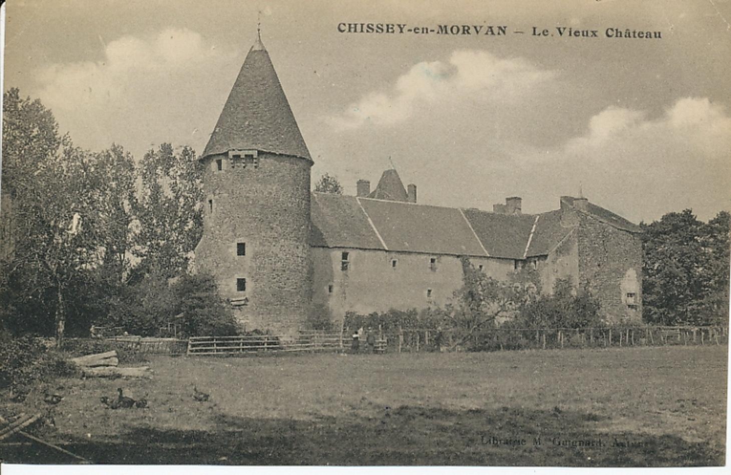 Chissey-en-Morvan -  Chissey-en-Morvan. Le vieux château.