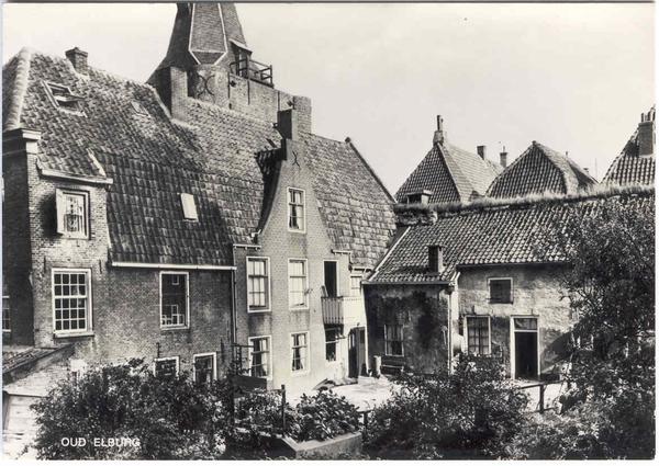 Elburg - Stadsgezicht, 1970