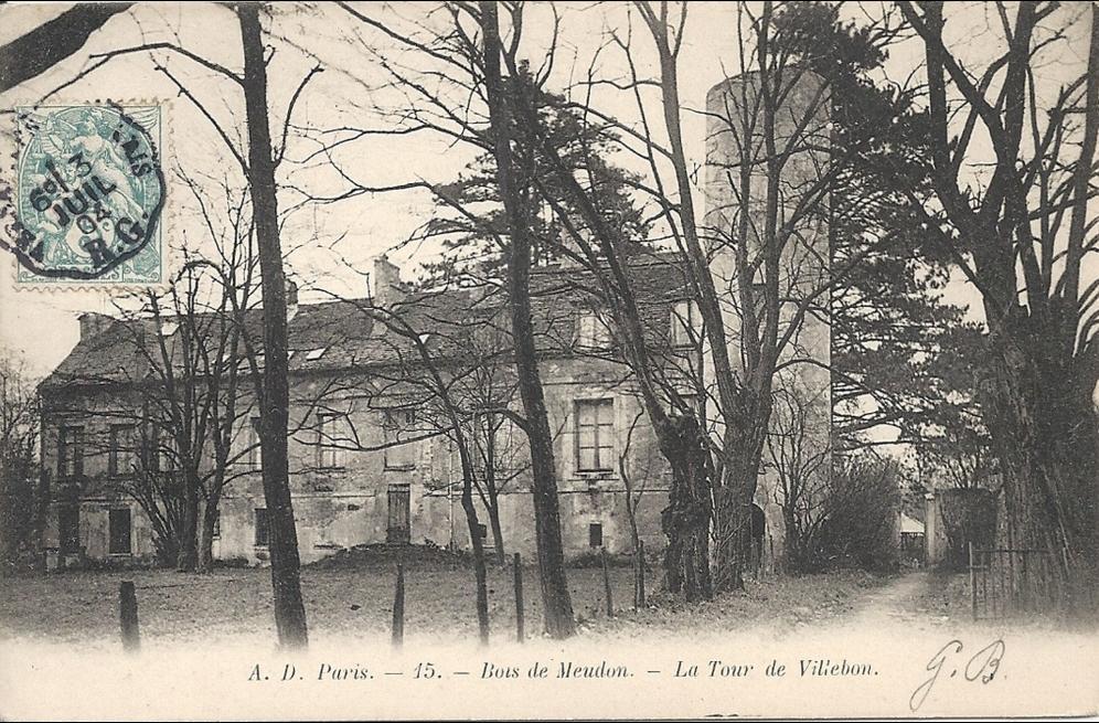 Meudon - Bois de MEUDON - La Tour de Villebon