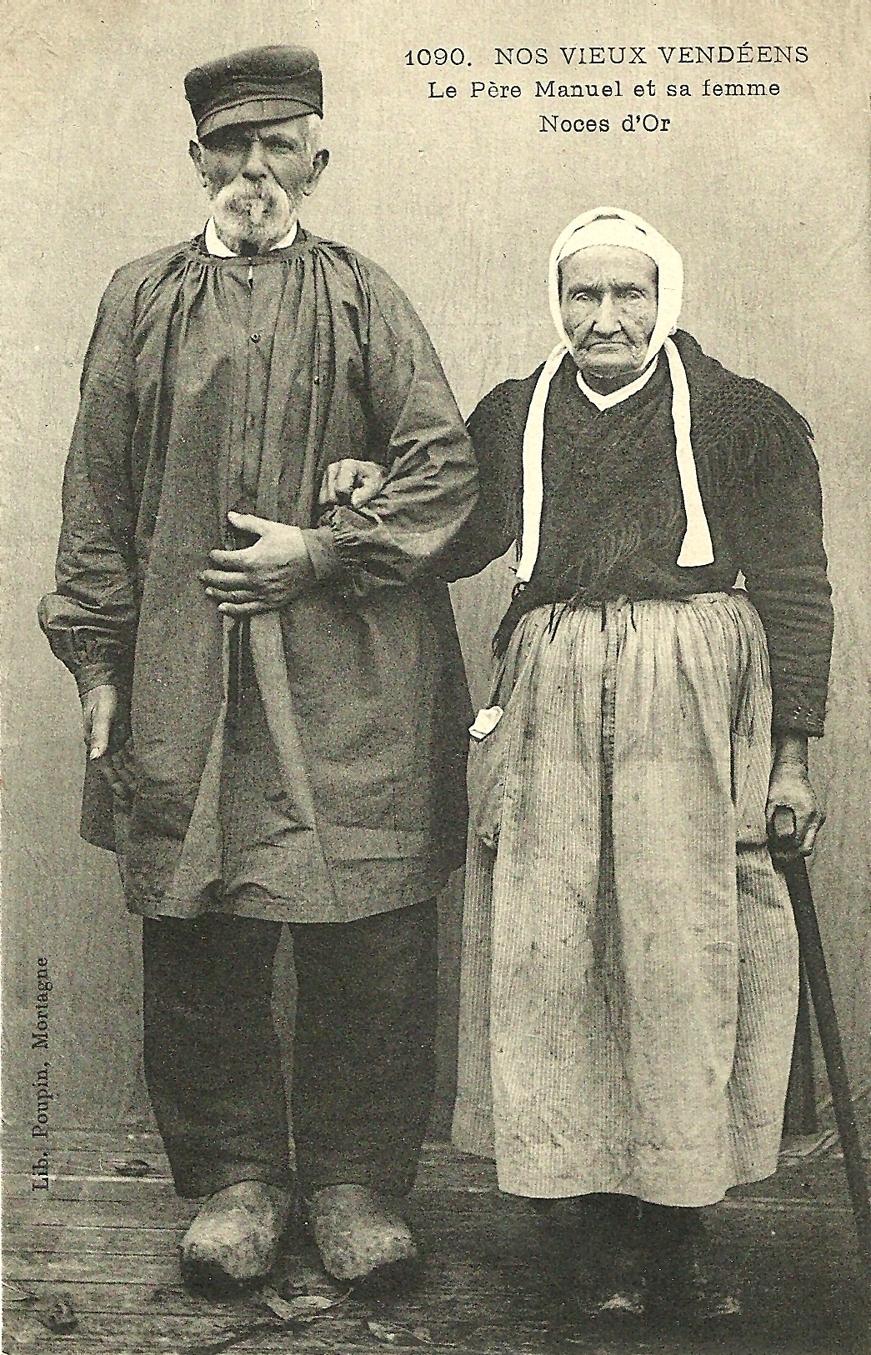 -  Le Père Manuel et sa femme-Noces d'or