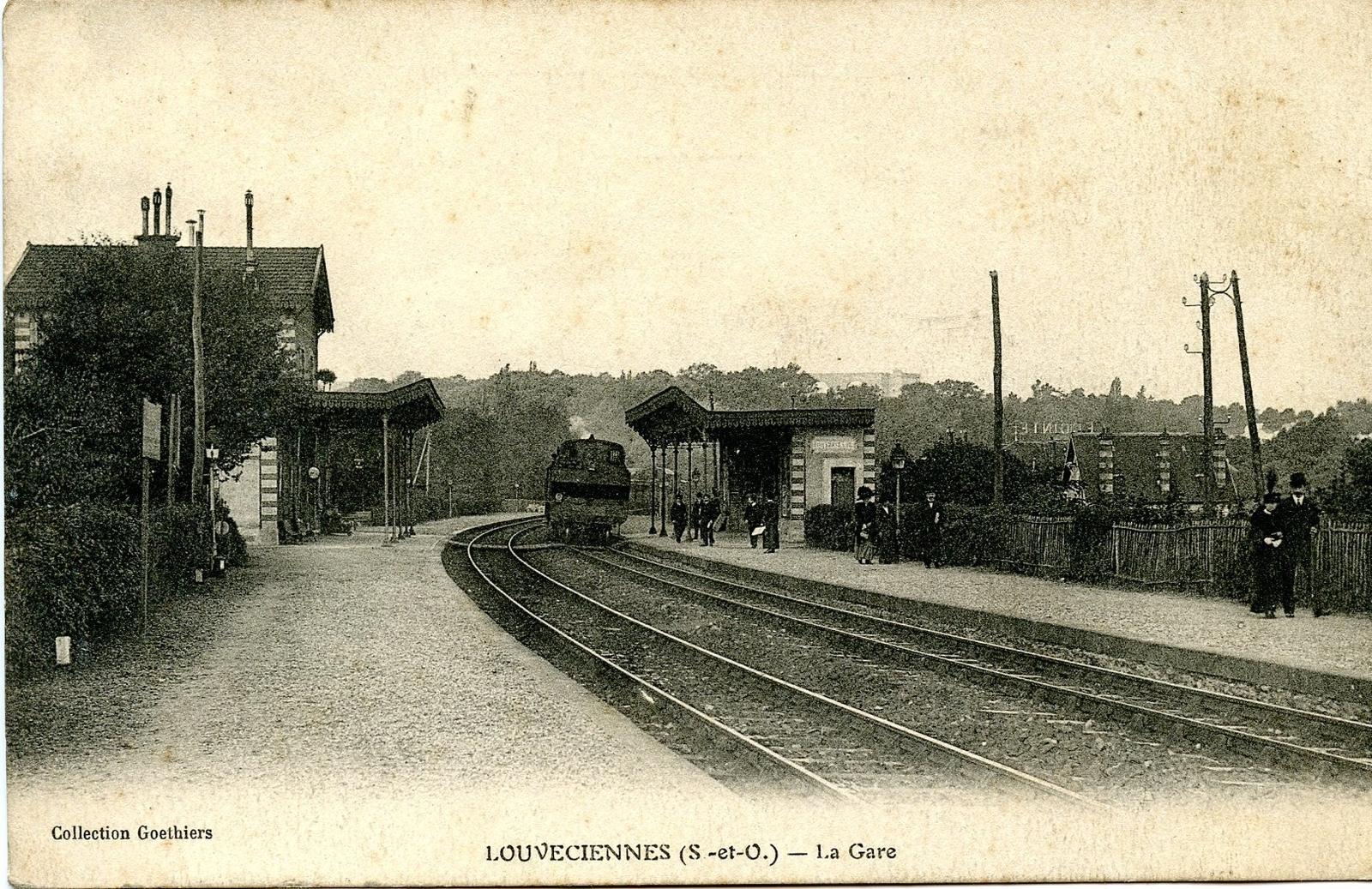 Louveciennes - La Gare